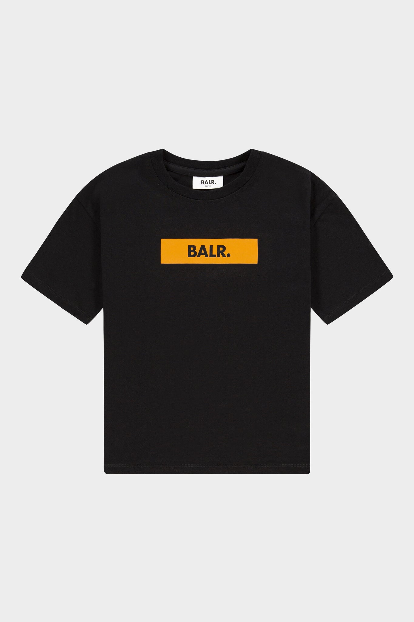 BALR. Kids Loose Fit Tee Club Logo Jet Black