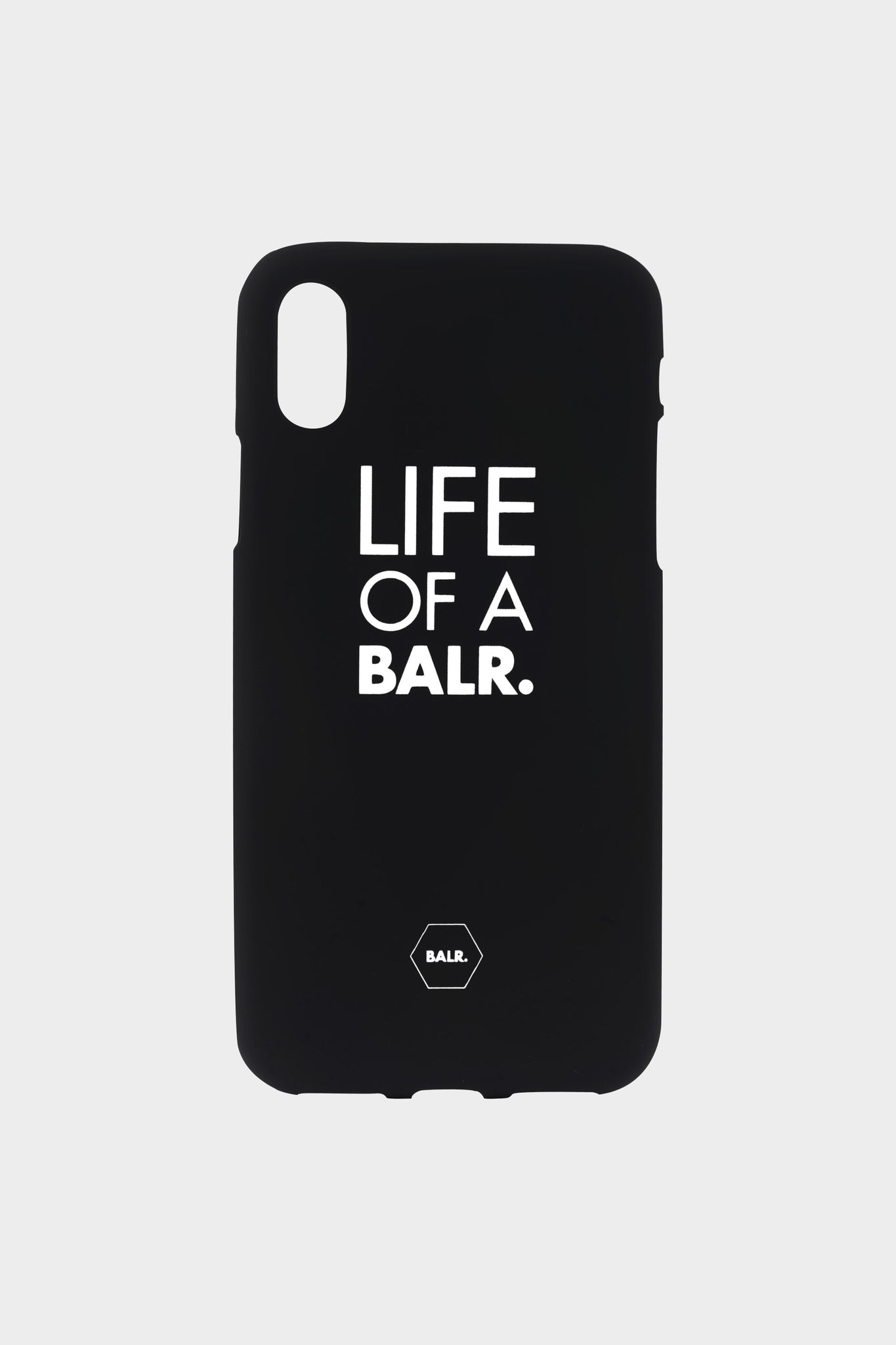 LOAB Silicone iPhone Case Black