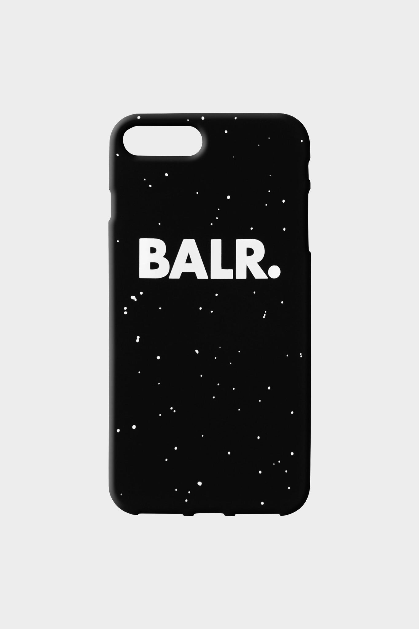 Splatter Silicone iPhone Case Black