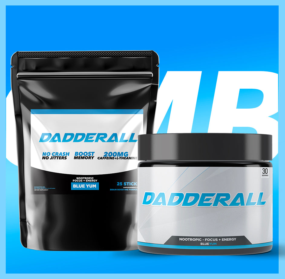 Dadderall Sticks & Tub Combo Bundle