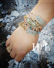Load image into Gallery viewer, Gemstone wrap Loved bracelet