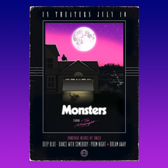 Monsters Posters Set