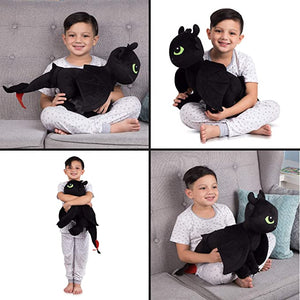 Toothless Cuddle Pillow [ BUY 2 FREE SHIPING ]