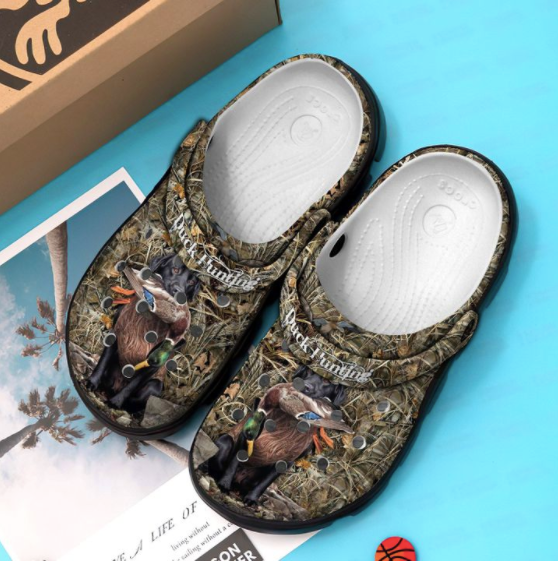 DUCK HUNTING Style 2 CROCS [ Buy 2 Free Shipping ]