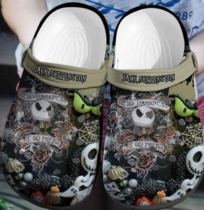 JACK SKELLINGTON CROCS [buy 2 free shipping ]