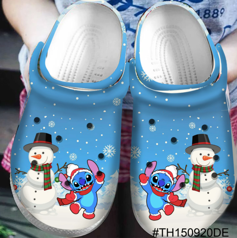 STITCH CROCS CHRISTMAS [buy 2 free shipping ]