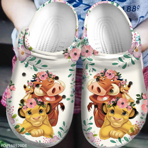 THE LION KING CROCS CUTE [buy 2 free shipping ]