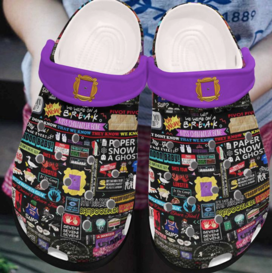 FRIENDS CROCS STYLE3 [buy 2 free shipping ]