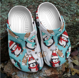 PENGUIN CROCS CUTE CHRISTMAS [buy 2 free shipping ]