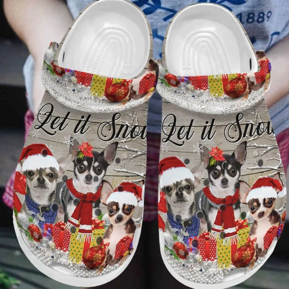 CHIHUAHUA CROCS CUTE CHRISTMAS [buy 2 free shipping ]