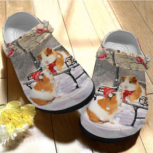 GUINEA PIG CROCS CUTE CHRISTMAS [buy 2 free shipping ]