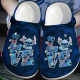 STICH LOVE CROCS CUTE [buy 2 free shipping ]