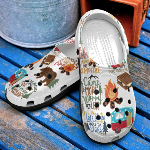 CAMPING CROCS  [buy 2 free shipping ]