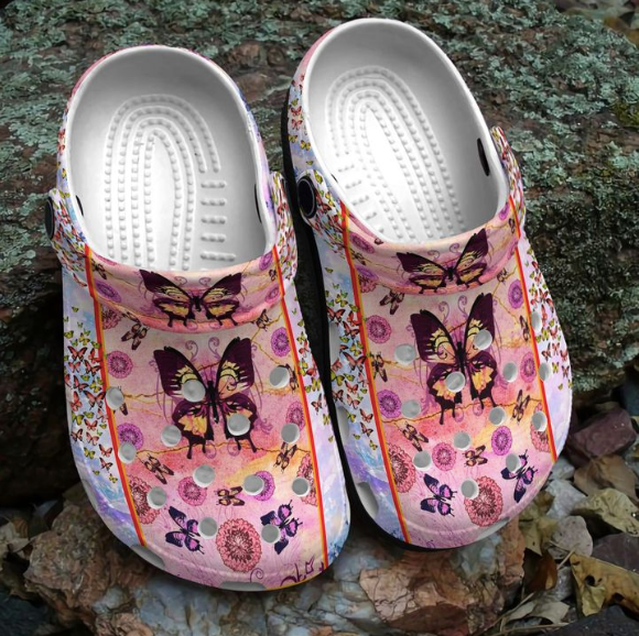 QUEEN BUTTERFLY CROCS  [buy 2 free shipping ]