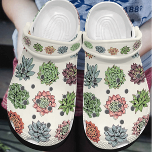 SUCCULENT CROCS  [buy 2 free shipping ]