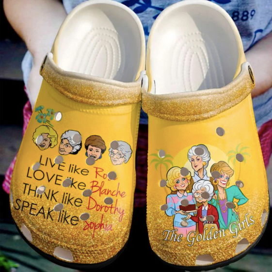 THE GOLDEN GIRLS CROCS STYLE2 [buy 2 free shipping ]
