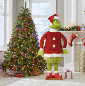 Christmas Ornament The Lifelike Animated Grinch [ Buy 2 Free Shiping ]