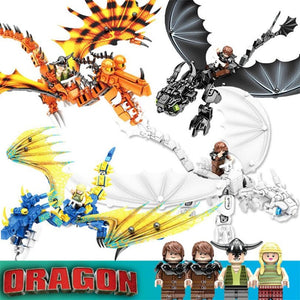 4PCS/Lot How to Train Your Dragon Compatible with lego