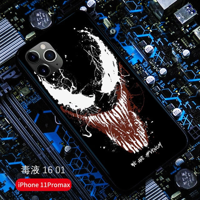 Venom Halloween Led Light Phone Case