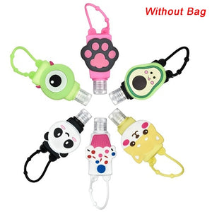 6PCS HAND SANITIZER KEYCHAIN