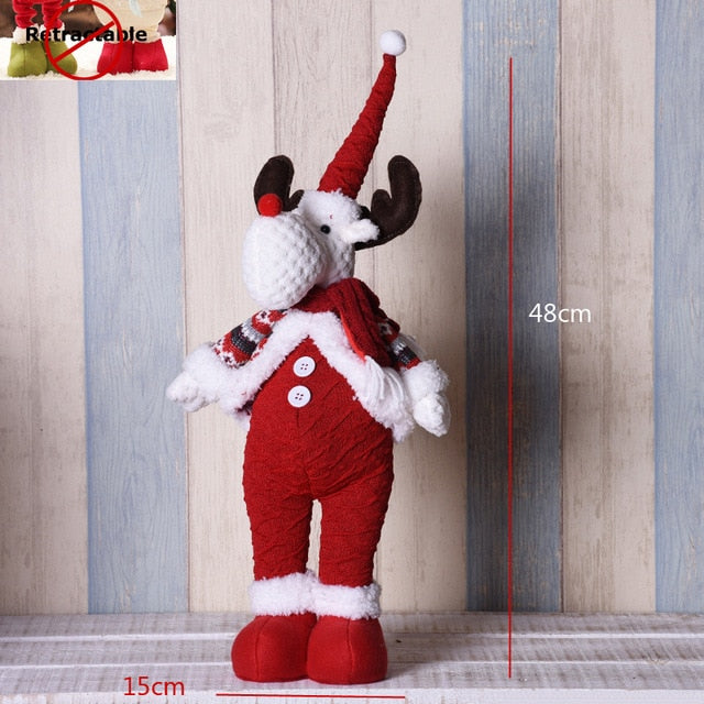 Big Size Christmas Dolls Retractable