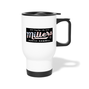Travel Mug - white