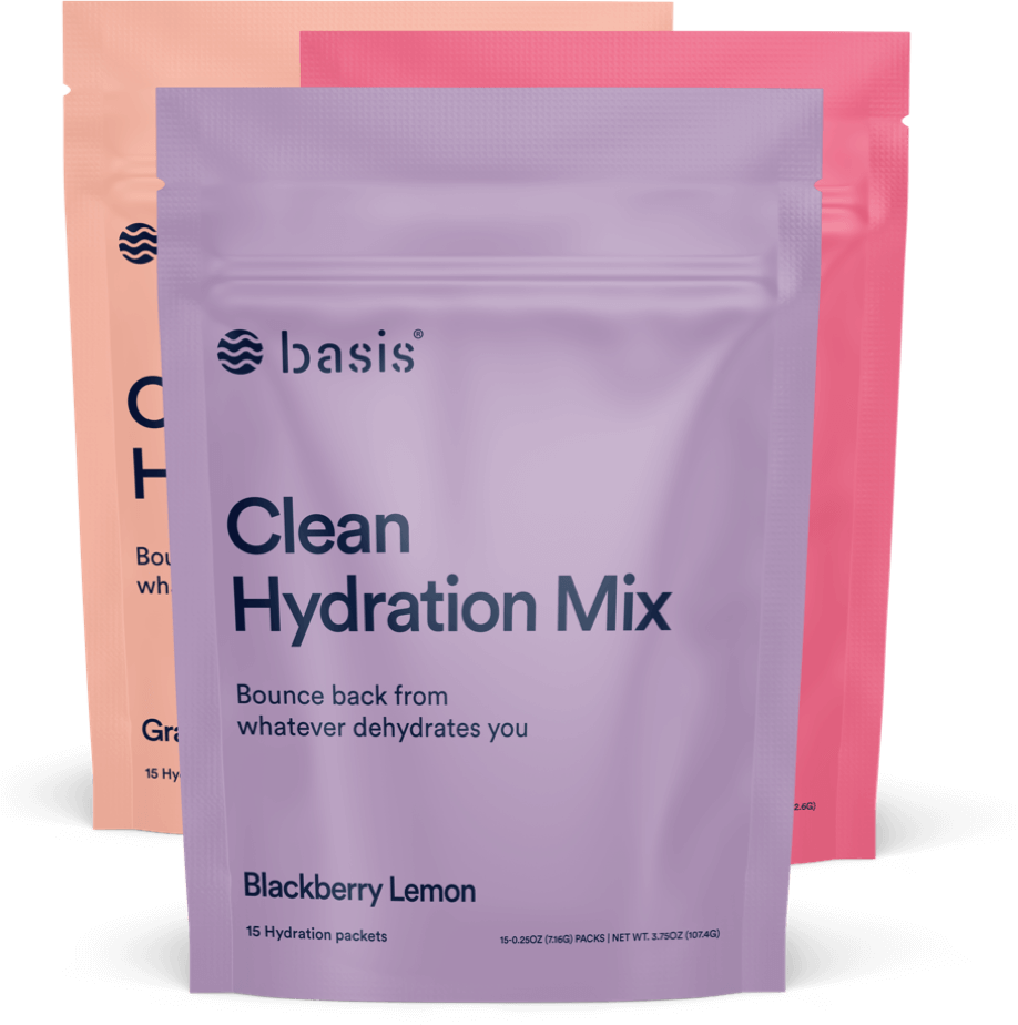 basis clean hydration mix flavors
