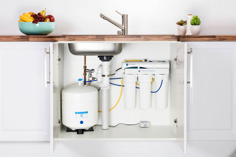 EcoHero 4 Stage Reverse Osmosis Under Sink System