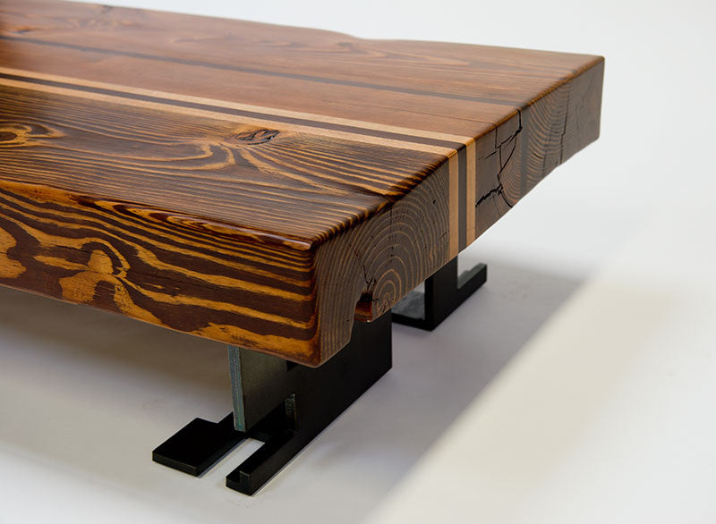 Reclaimed Timber Coffee Table ... - Reclaimed Timber Coffee Table (Piece #50)