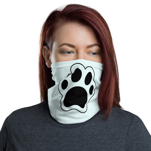 Pet Paw Green Face Cover