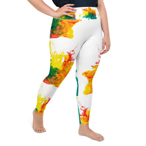 Matthew Henry Ink Cloud Plus Size Leggings - T's Little Somethings
