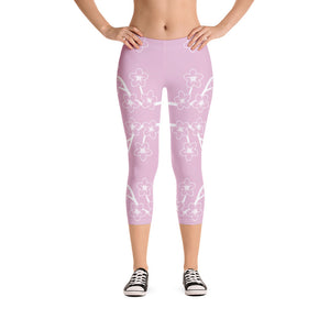 TLS Sakura Branch Capri Leggings - T's Little Somethings