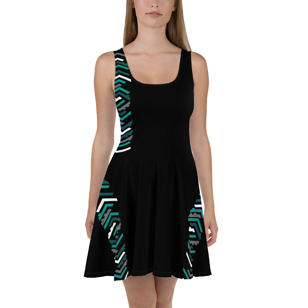 TLS Black Skater Dress - T's Little Somethings
