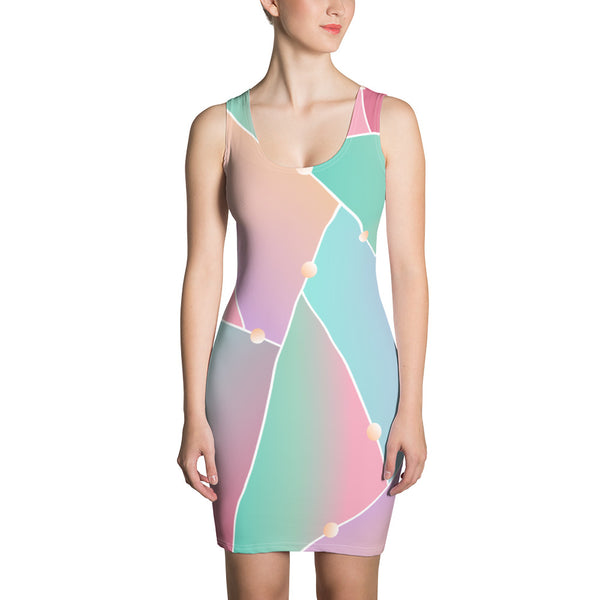 TLS Pastel Fitted Dress - T's Little Somethings
