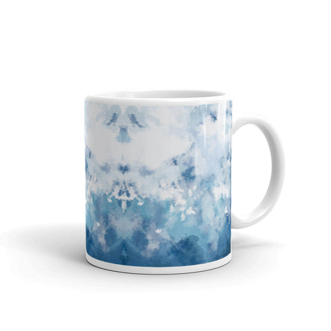 TLS Watercolour Mug Light Blue - T's Little Somethings