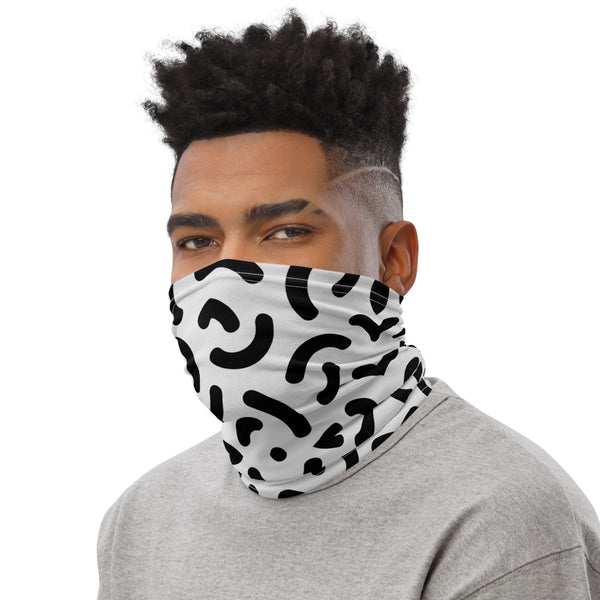 Neck Gaiter Crescent Shapes - T's Little Somethings