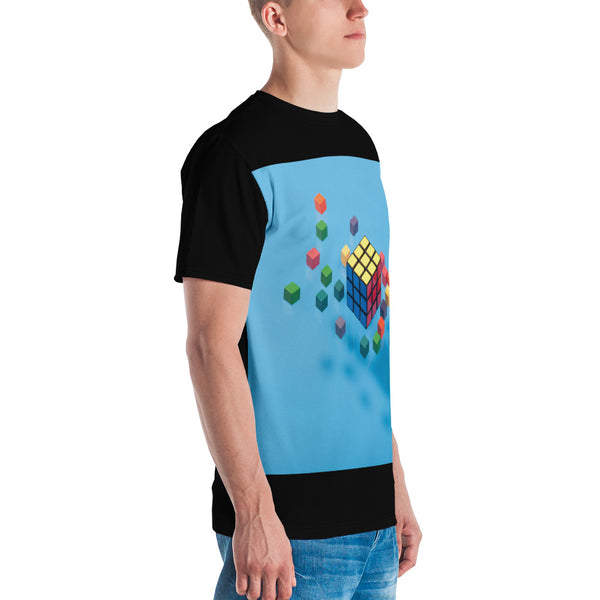 TLS Floating Cubes Men's T-shirt - T's Little Somethings