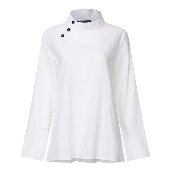 White Casual Top - T's Little Somethings