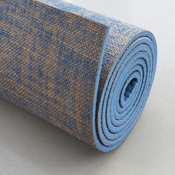 Non-slip Jute Pvc Yoga Mat - T's Little Somethings
