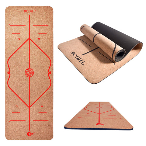 Printed Eco-friendly Yoga Mat - T's Little Somethings