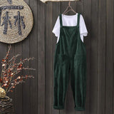 Corduroy Suspender Jumpsuits  - T's Little Store - T's Little Somethings