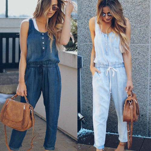 Denim Wash Overalls - T's Little Somethings