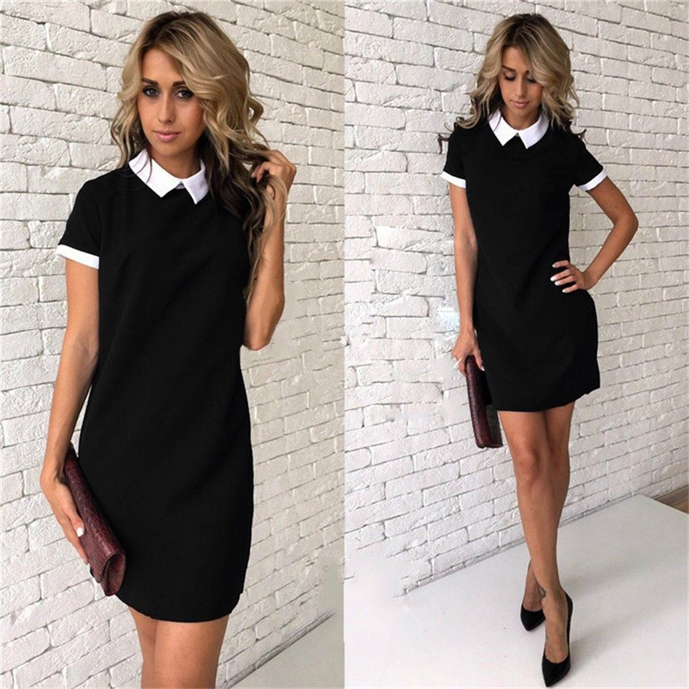 Office/ Casual Collar Dress - T's Little Somethings