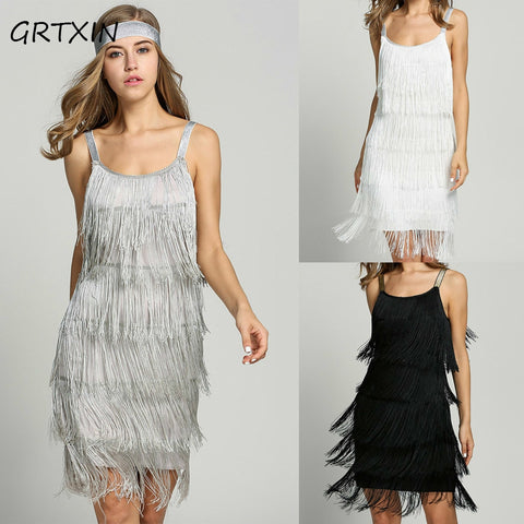 Gatsby Style Fringe Dress - T's Little Somethings