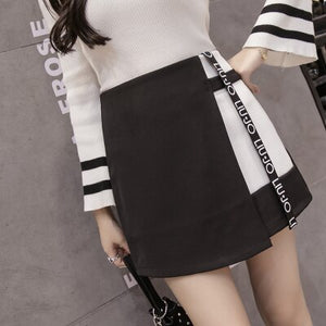 High Waist Mini Skirt - T's Little Somethings