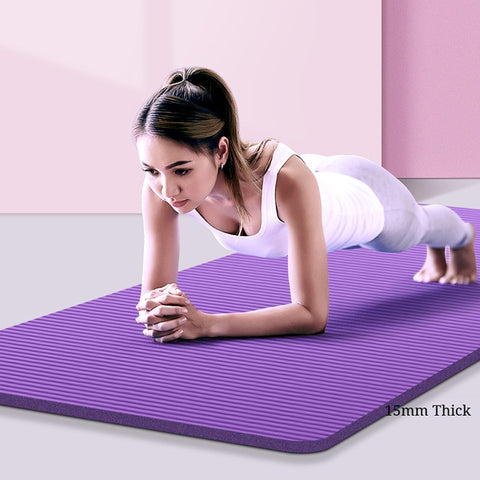 Yoga Mat Non-Slip 15MM