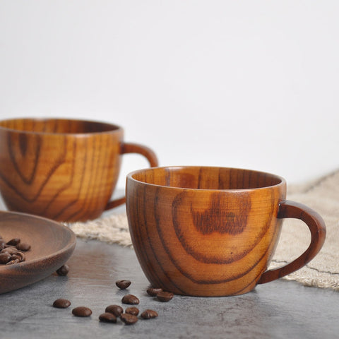 Wooden Bamboo Cup