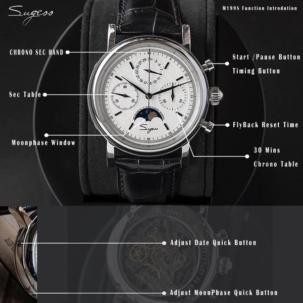 Luxury Chronograph Wristwatch