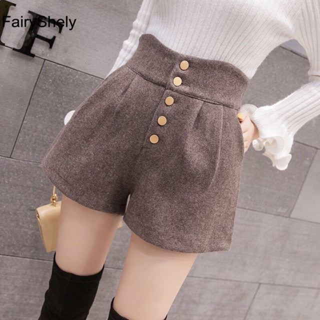 FairyShely High Waist Shorts Women