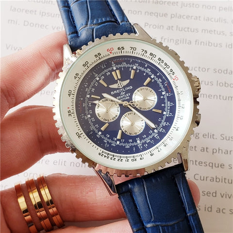 Breitling Luxury Brand Mechanical Wristwatch